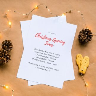 Christmas canva mockup
